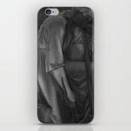 sad angel iPhone Skin