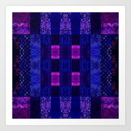 Quilt Square - MMB Art Print