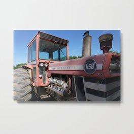 resting tractor Metal Print