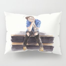 Smiling Harry Styles Pillow Sham