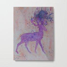 Deer Burst  Metal Print