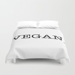 VEGAN. Duvet Cover
