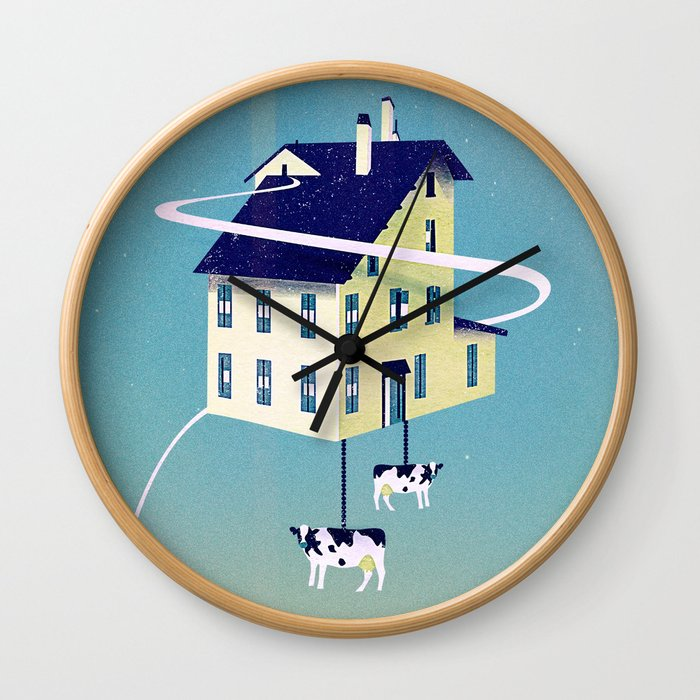 Holy Cow... Wall Clock