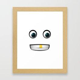 Big Eyes Framed Art Print