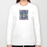 chakra Long Sleeve T-shirts featuring Earth Chakra by The Art of Eric Carson