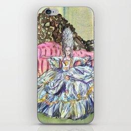 Rococo Woman  iPhone Skin