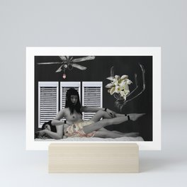 [ Modern Stages of Grief ] — Part 2: Denial Mini Art Print