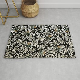 Just Bees and Dials and Fish and Tulips Rug
