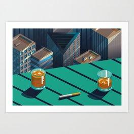 Bistro Art Print
