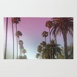 Palm Tree Romance Rug