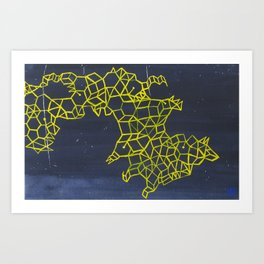 Where Stars Collide Art Print