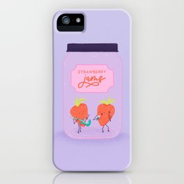 Strawberry Jams iPhone Case