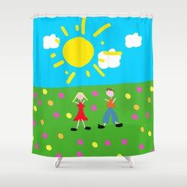 Kiddy Doodle Dandy Shower Curtain