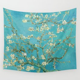 Van Gogh Almond Blossoms Painting Wall Tapestry