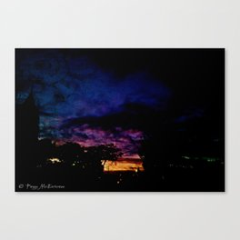 On comes the night 4_Web 2 Canvas Print