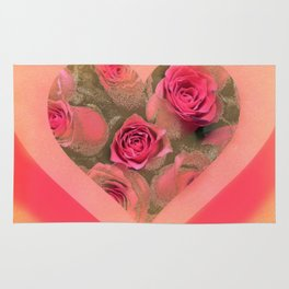 The roses in card (copyright Elize K) Rug