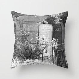 old memorial Throw Pillow