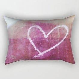 be still my beating heart Rectangular Pillow