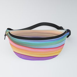 Colorful lines Fanny Pack