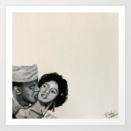 Dorothy & Harry Art Print