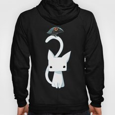 Cat and Raven Hoody