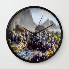 Watergate Bay - Mussels Wall Clock