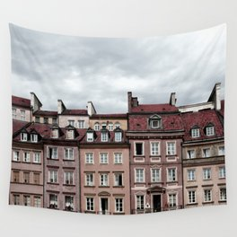 Old Town Wall Tapestry