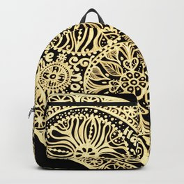 golden heart I love you Backpack