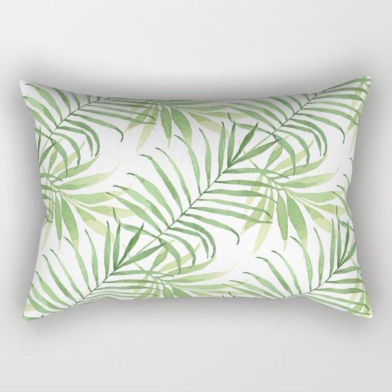 Tropical Branches Pattern 05 Rectangular Pillow