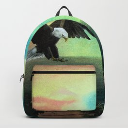 The Eagle has Almost Landed Backpack
