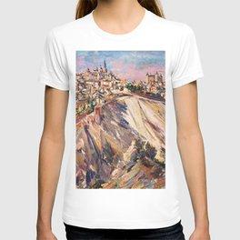 Toledo, Spain by David Bomberg T-shirt