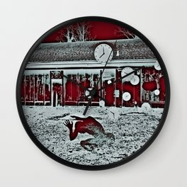 WAR GAMES Wall Clock
