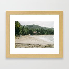 Montezuma, Costa Rica Framed Art Print