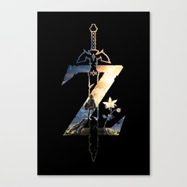 Z [Breath of the Wild] Canvas Print