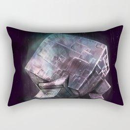 Fluorite Goddess Rectangular Pillow