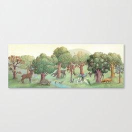 Sweet Tree Island Canvas Print
