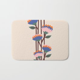 Henri Flowers Bath Mat