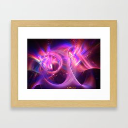 Horn Section Framed Art Print