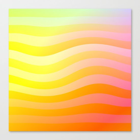 Evening Waves Canvas Print