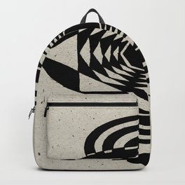 Octagonal Illusion Backpack