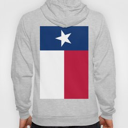 State flag of Texas, banner version Hoody
