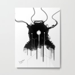 Bioshock Evolve Suit Design FanArt Metal Print