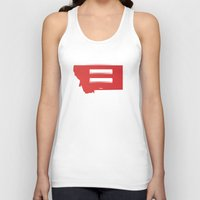 montana Tank Tops featuring Montana Love by Tank Top Sunday
