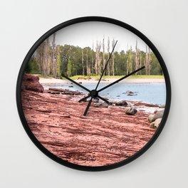 Presque Isle Wall Clock