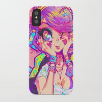 barachan iPhone & iPod Cases featuring shinsui by barachan