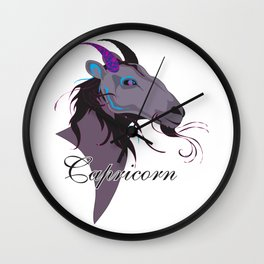 Starlight Capricorn Wall Clock