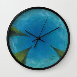 Points of View Wall Clock