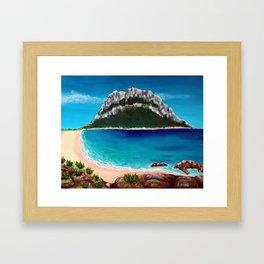 Tavolara Framed Art Print