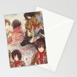 Mikasa Ackerman Stationery Cards