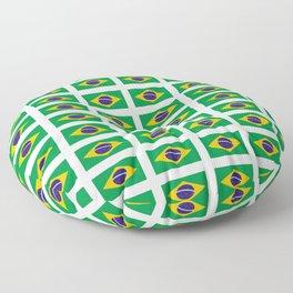 flag of brazil 4-Brazil, flag, flag of brazil, brazilian, bresil, bresilien, Brasil, Rio, Sao Paulo Floor Pillow